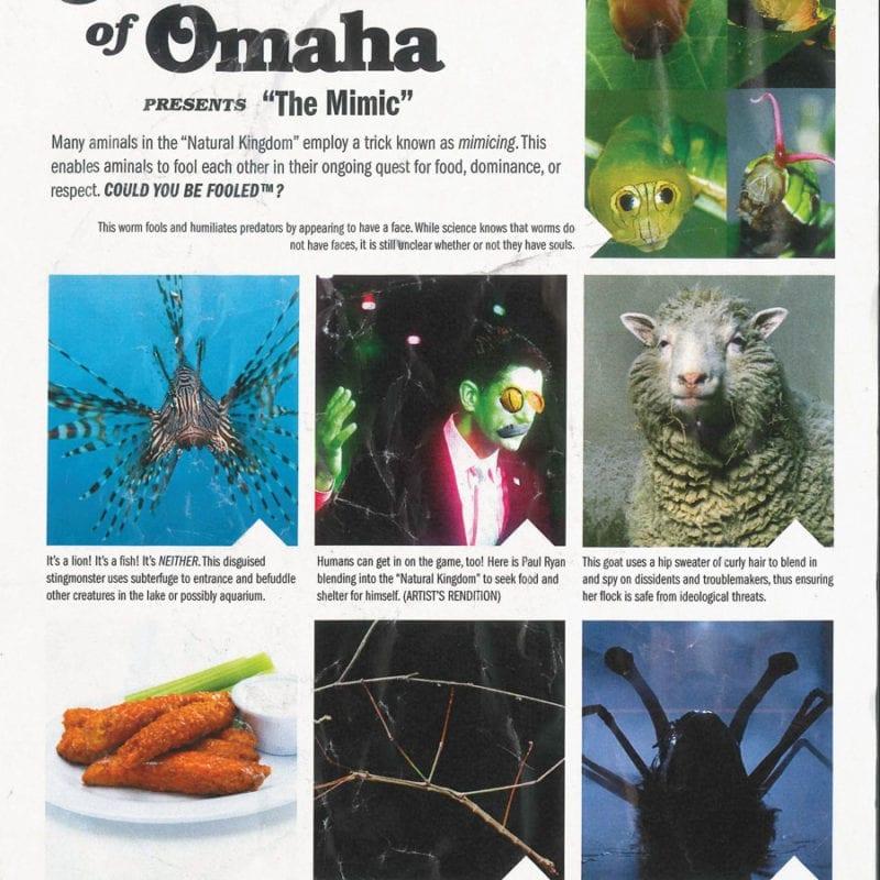 Manuel Of Omaha: The Mimics