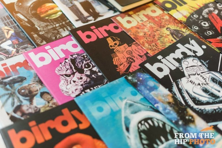birdy issue covers