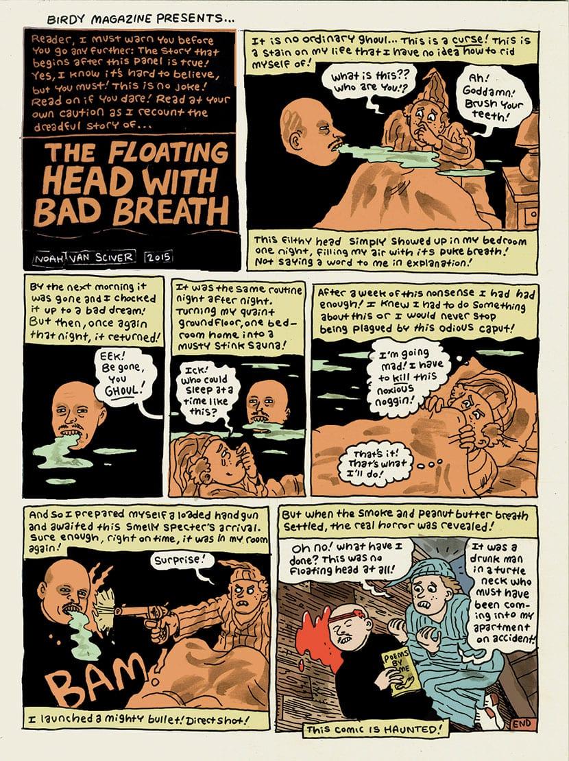 Bad Breath by Noah Van Sciver