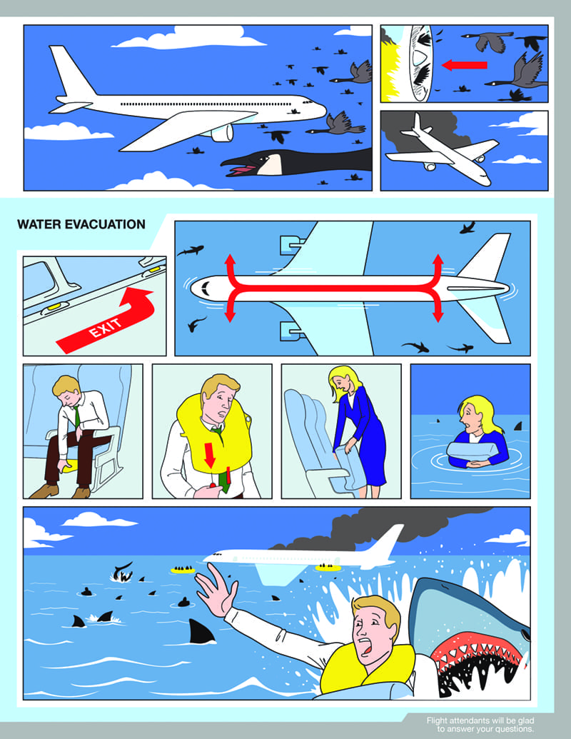 Birdy Safety Card by Jonny DeStefano and Michael Dee