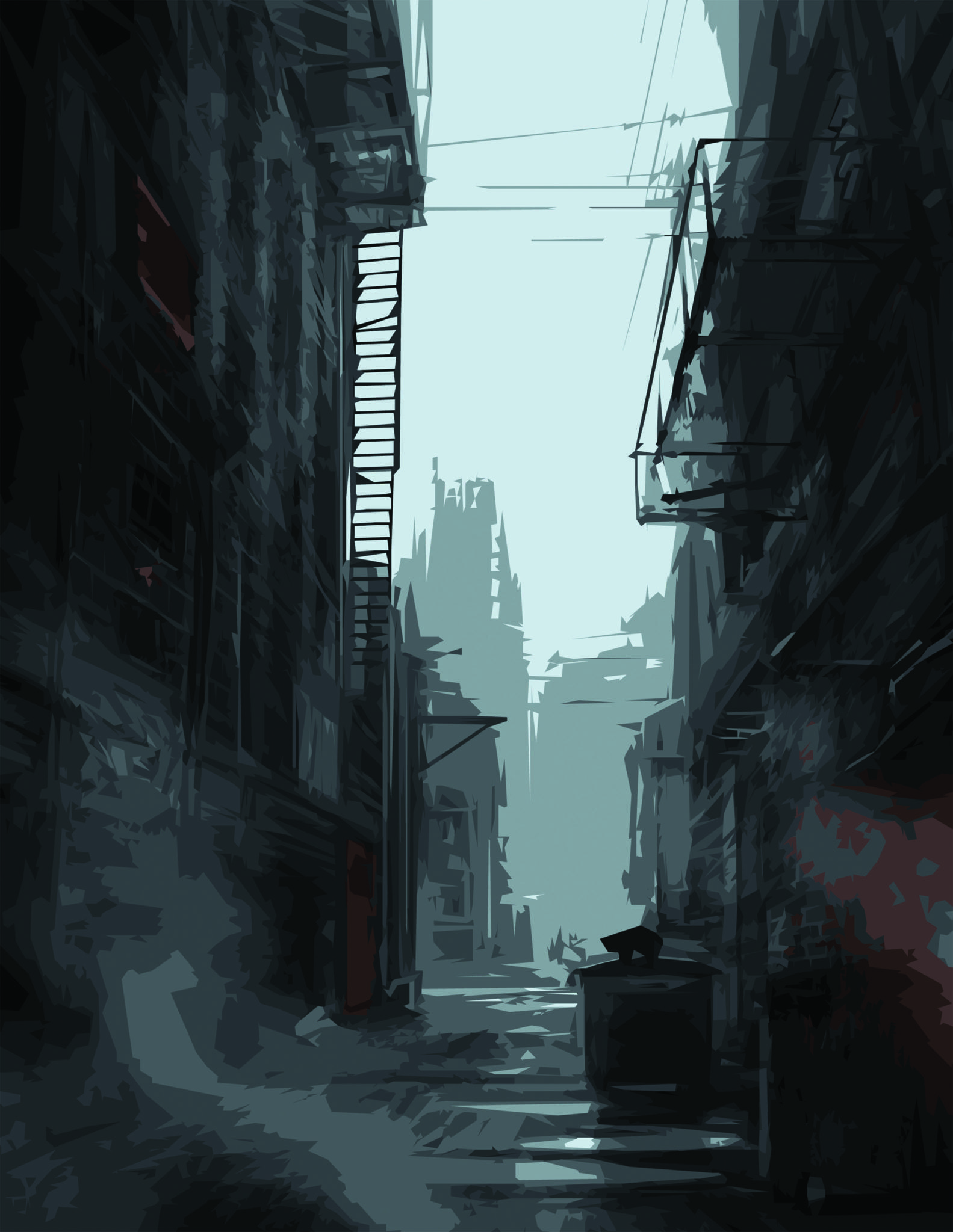 Alleyway by Shaun Gillies