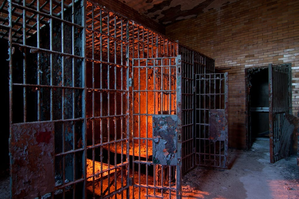 basement prison photo