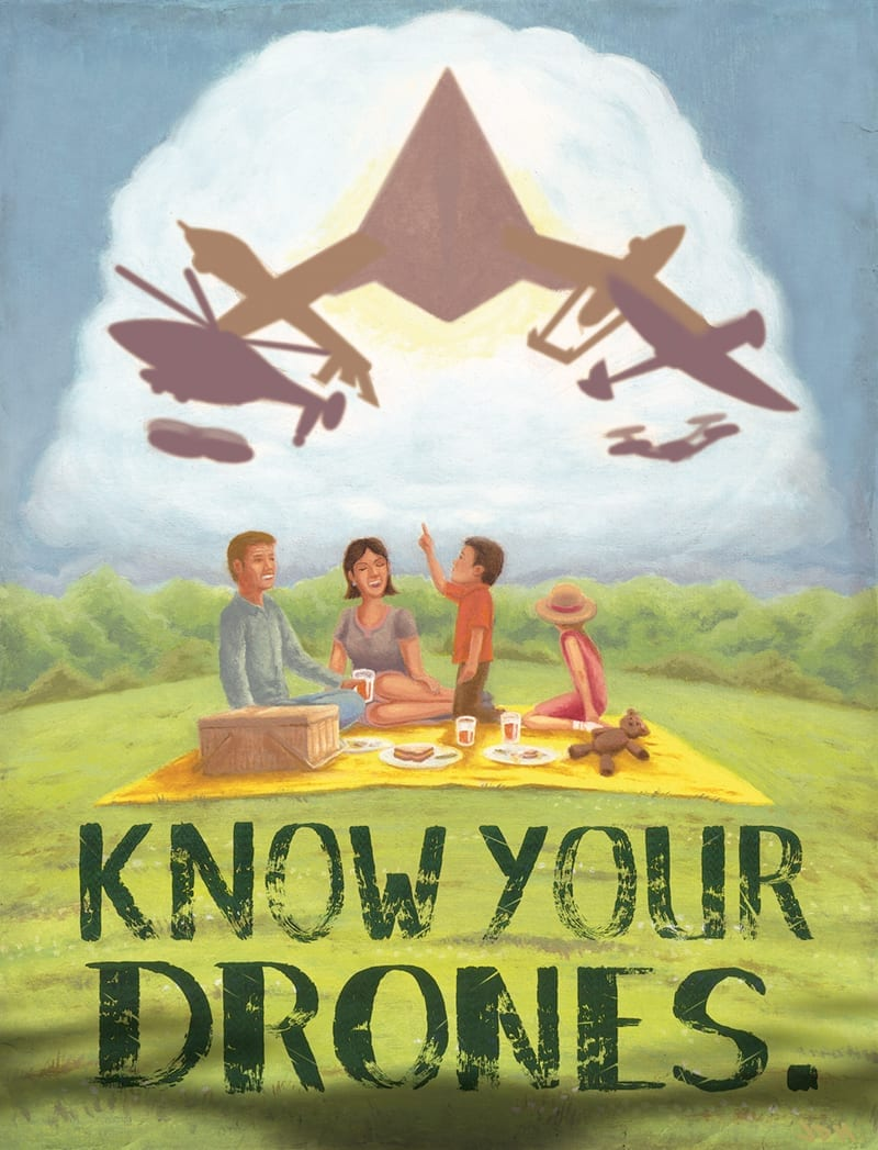 Know your Drones 1 by James Hattaway