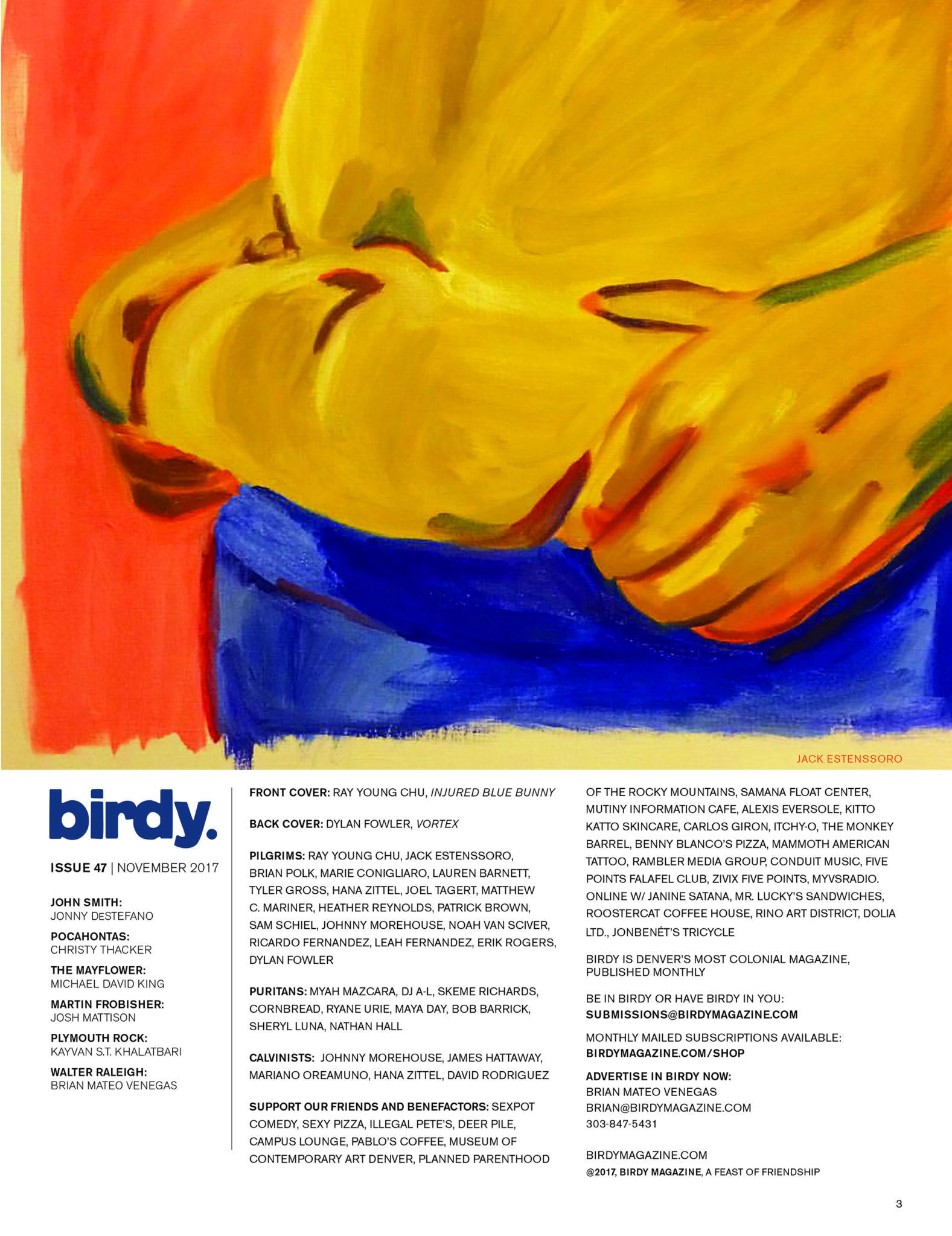 Issue 047 Index