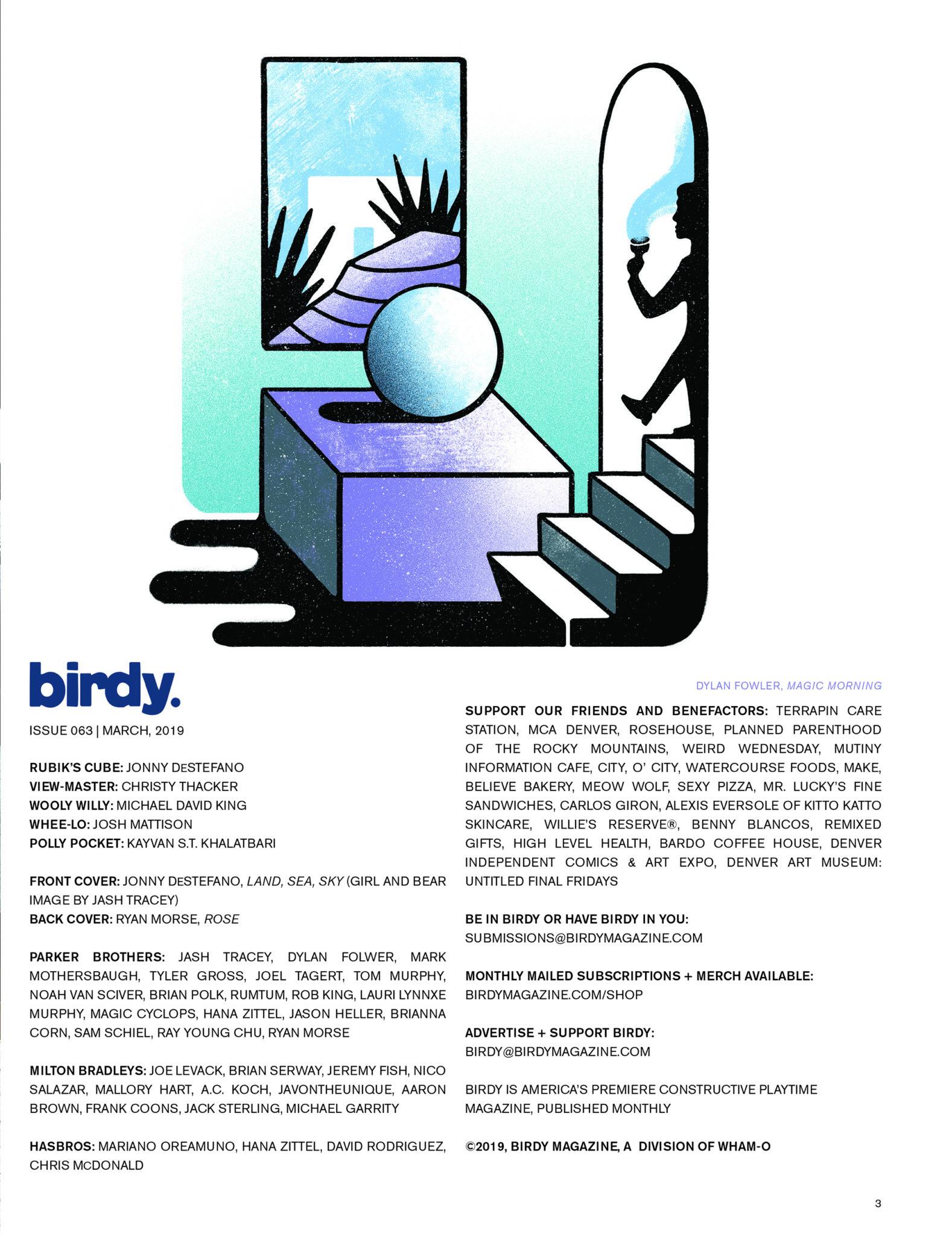 Issue 063 Index