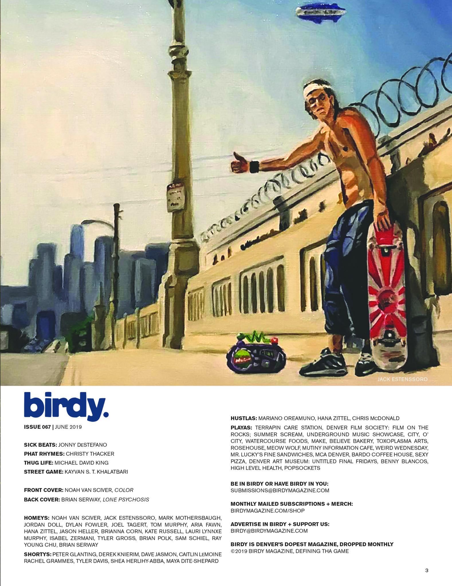 Issue 067 Index