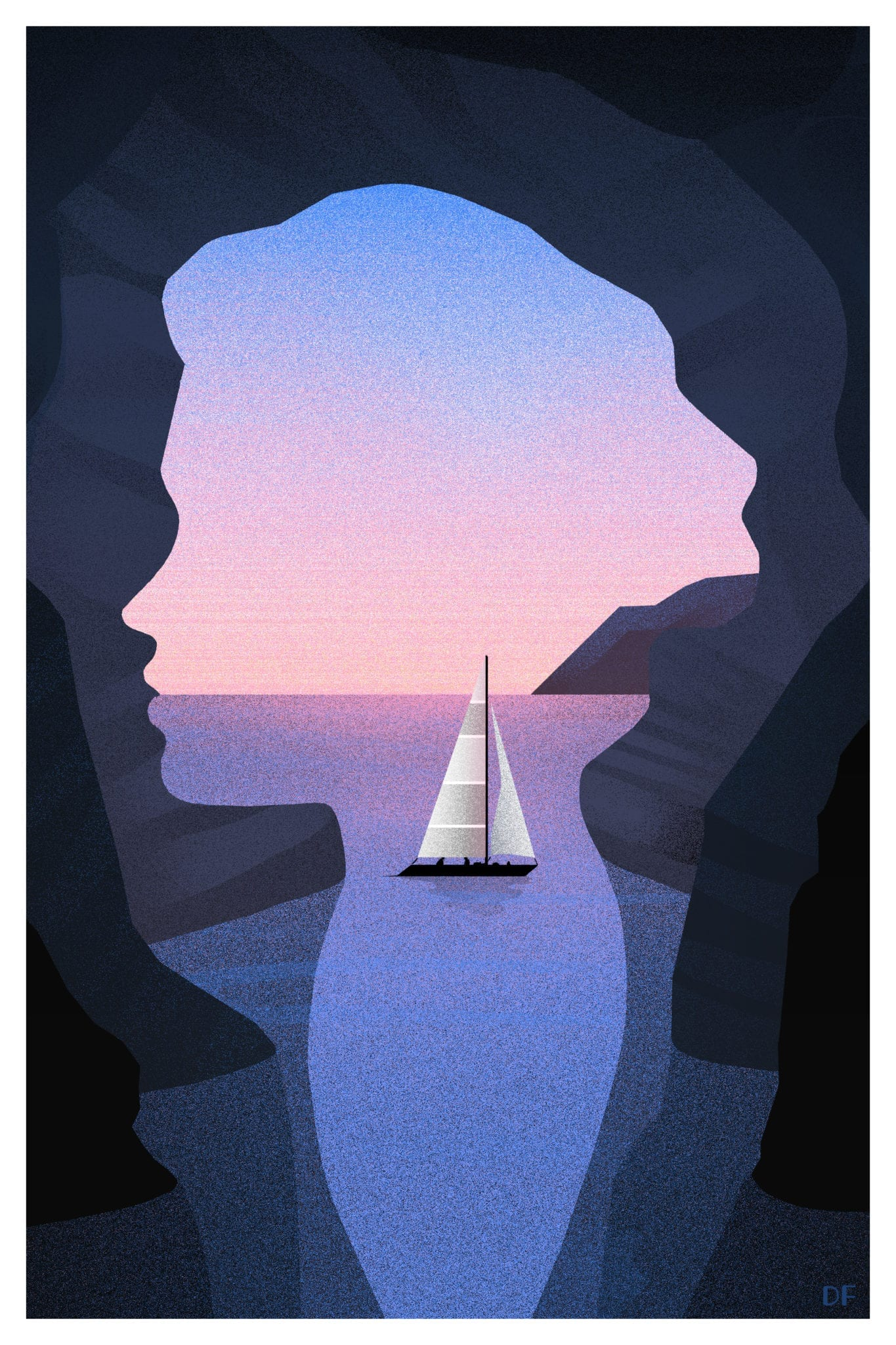 At a Glance Dylan Fowler silhouette art