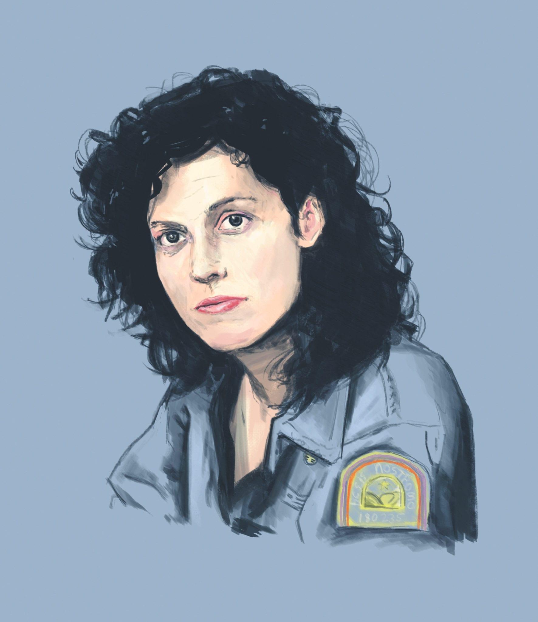 painting Ripley by Derek Knierim