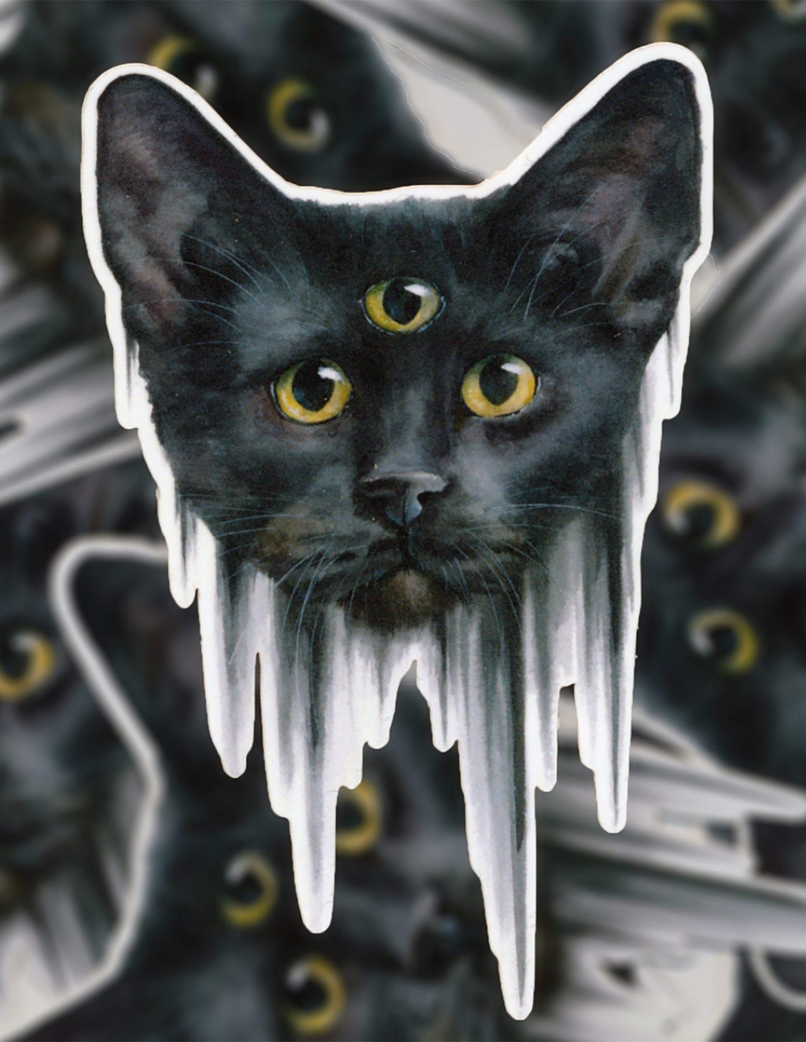 Mallory Hart Cat Third Eye
