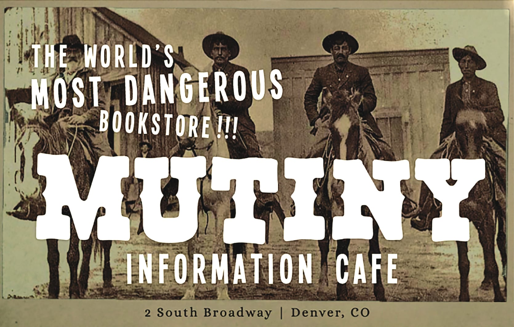 Mutiny Information Cafe ad