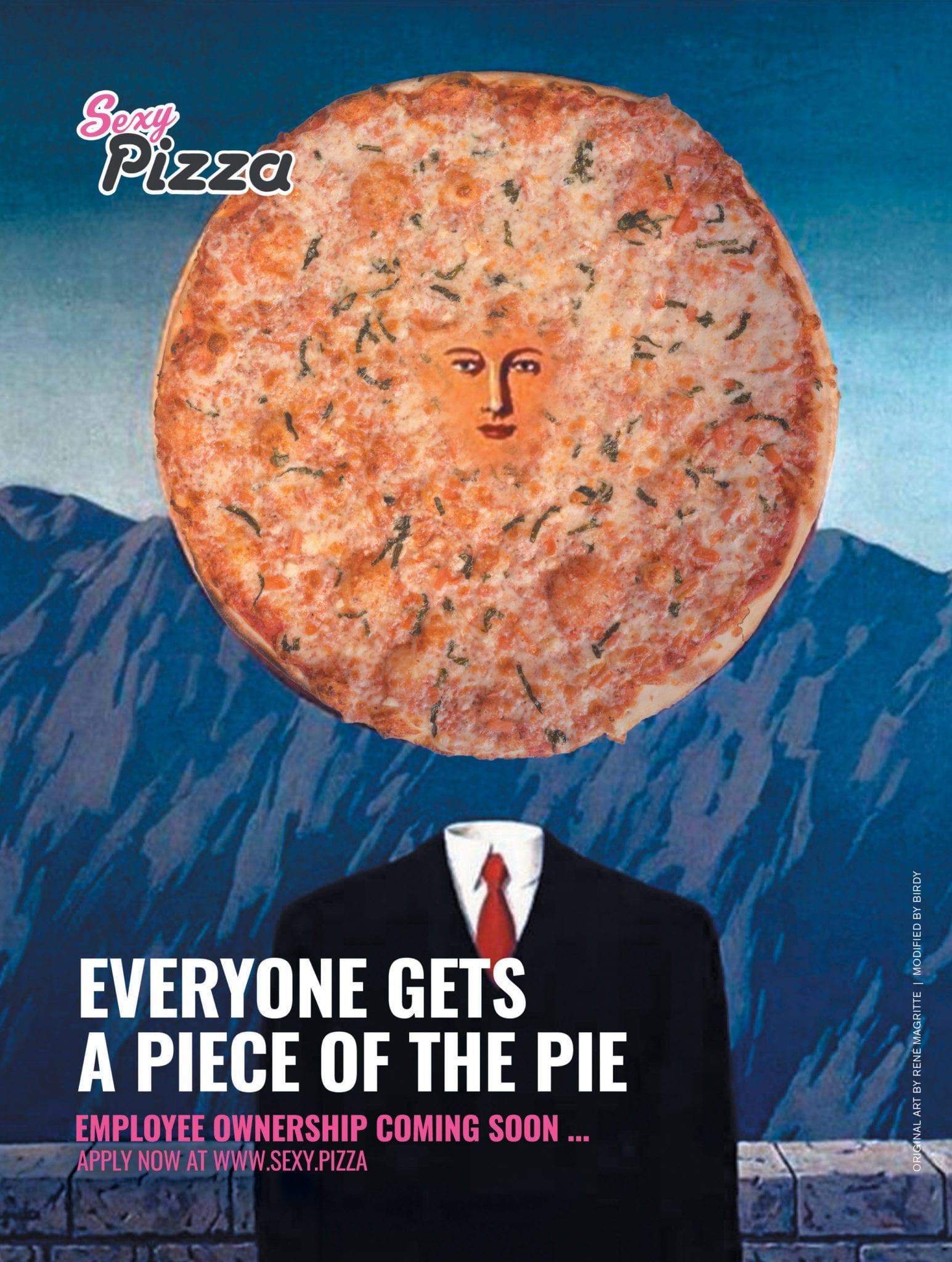 Sexy Pizza ad