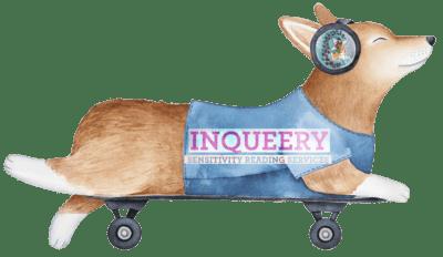 Inqueery Senstivity Reader ad doggie