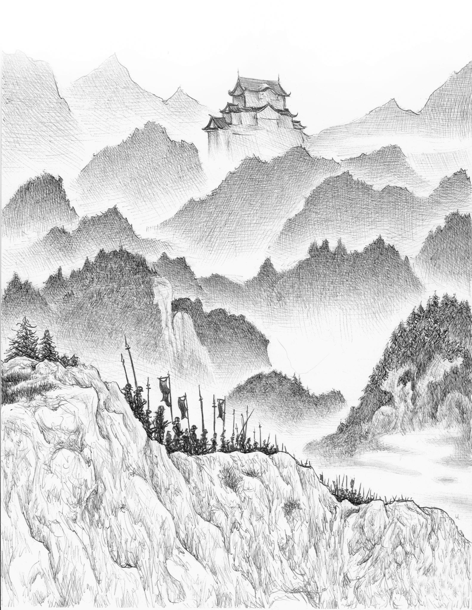 Samurai March by Dan Moran