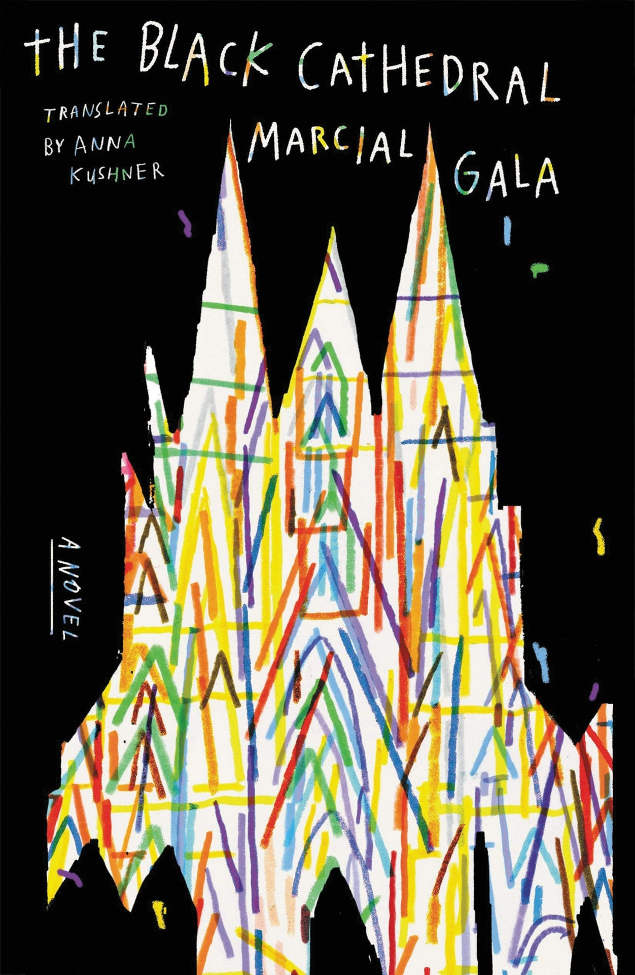 the black cathedral book cover