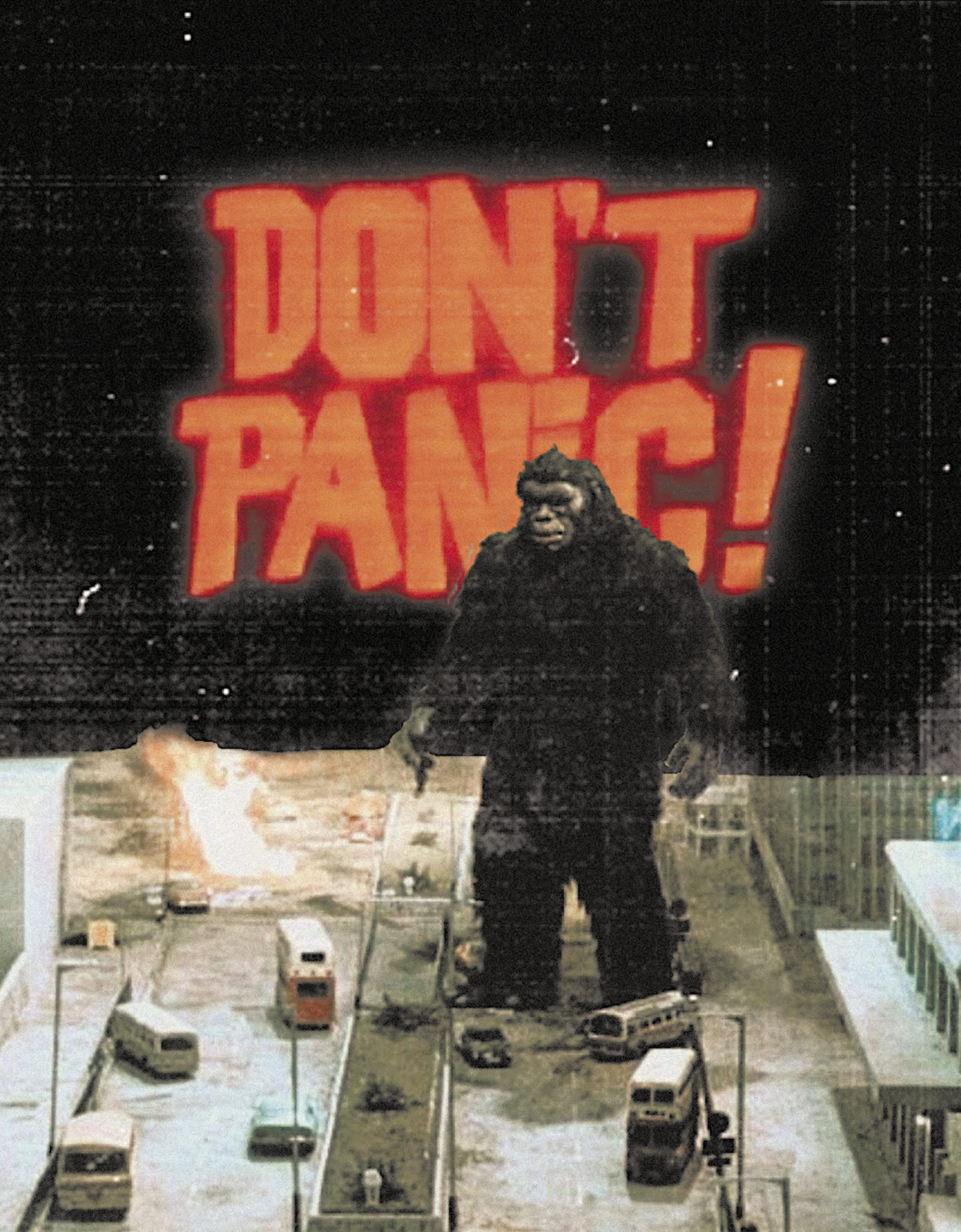 Don't Panic by Dave Danzara
