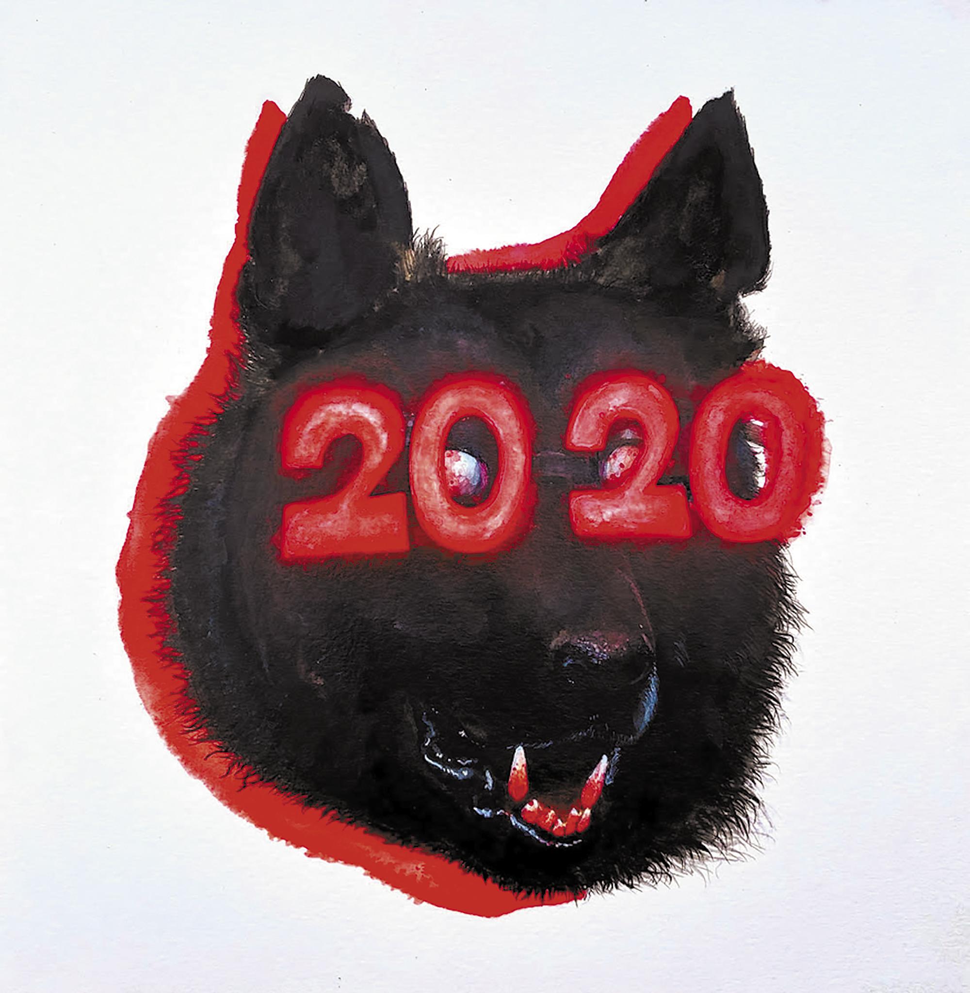Hellhound 2020 by Kristen Michael