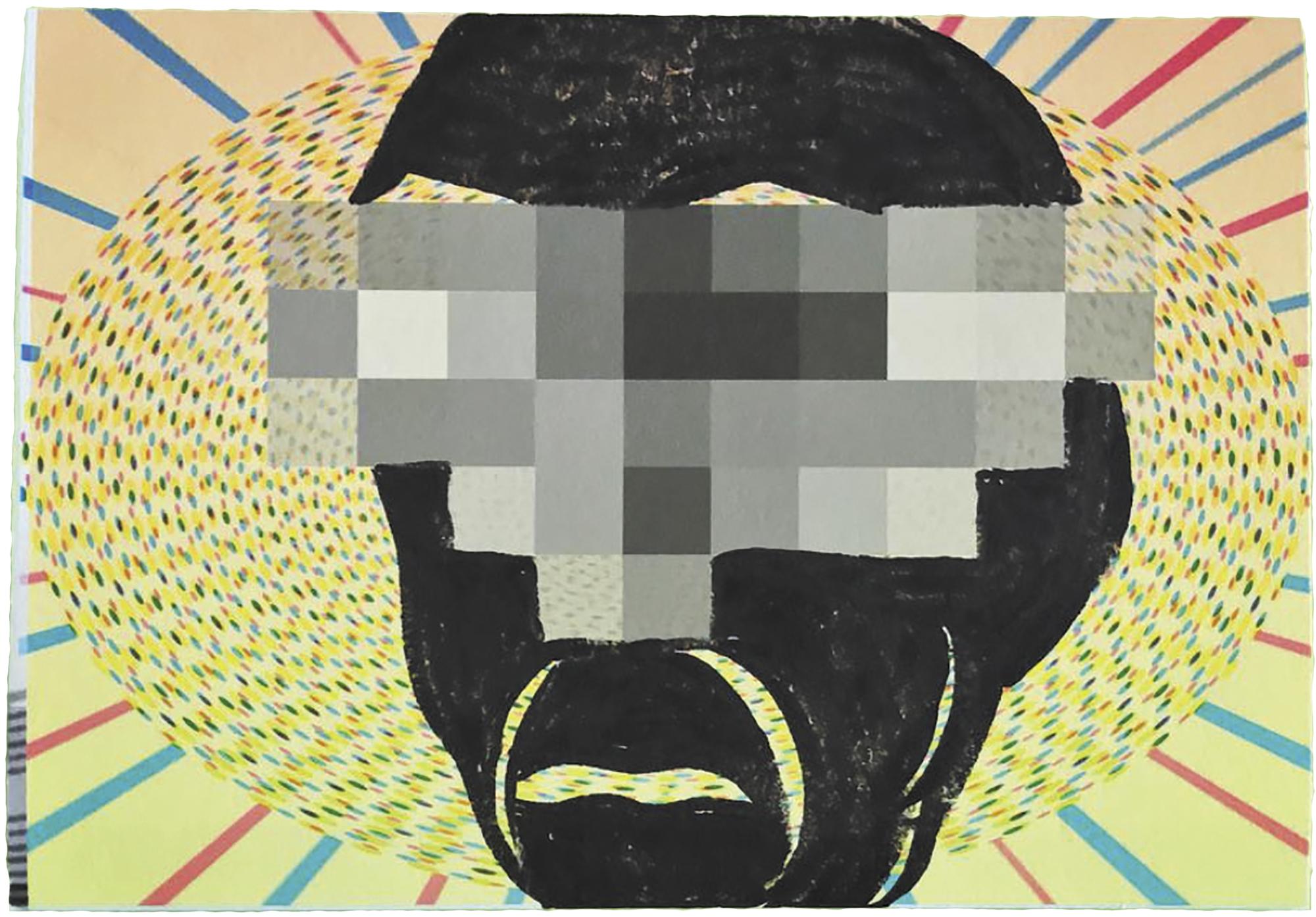 Mark Mothersbaugh postcard art
