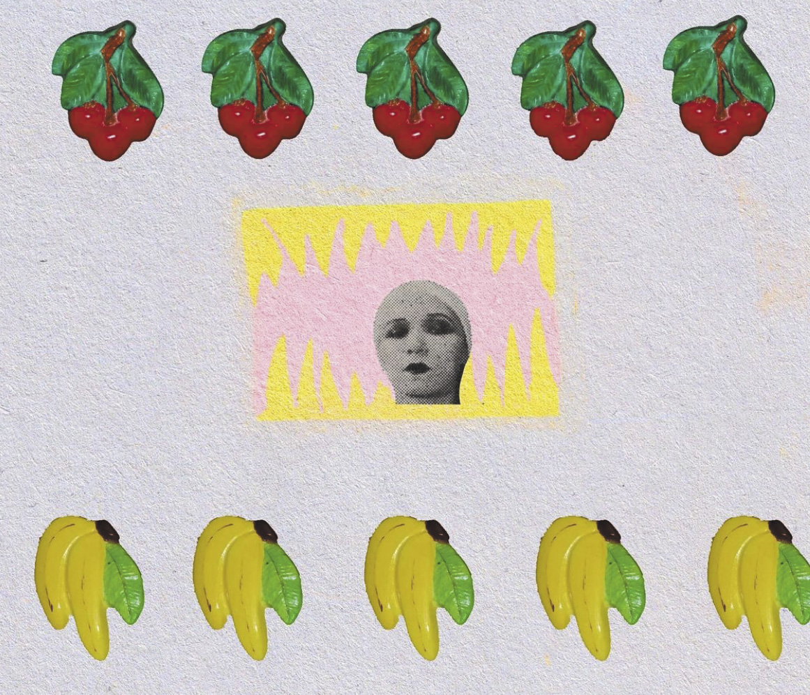 Face and Fruit Series by S. Putnik 091 Birdy