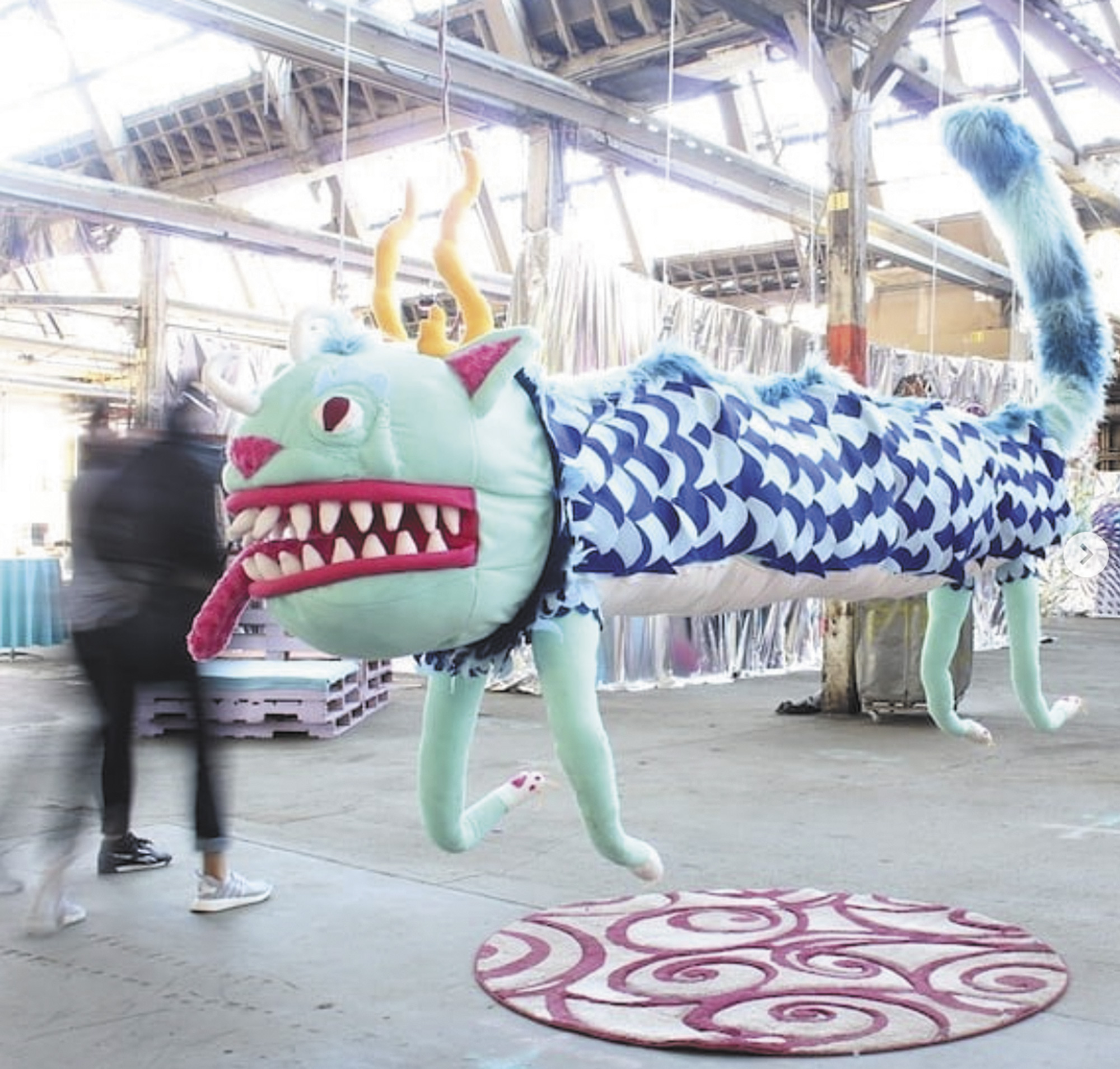 Kyle-Singer-and-Marjorie-Lair-created-this-cat-dragon-for-Far-Out-Factory.-Photo-courtesy-of-the-artist-@waffleconeclub