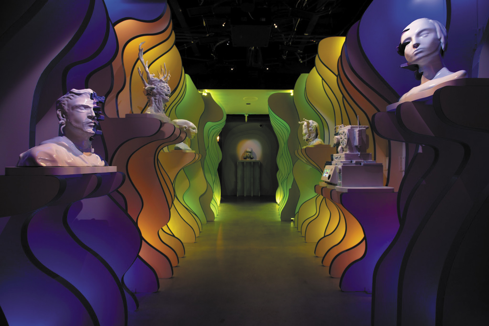 Hall-of-Busts-_-Lead-Artist--Sandra-Wang_Meow Wolf: A Look into the 4 Converged Worlds by Jordan Rumsey