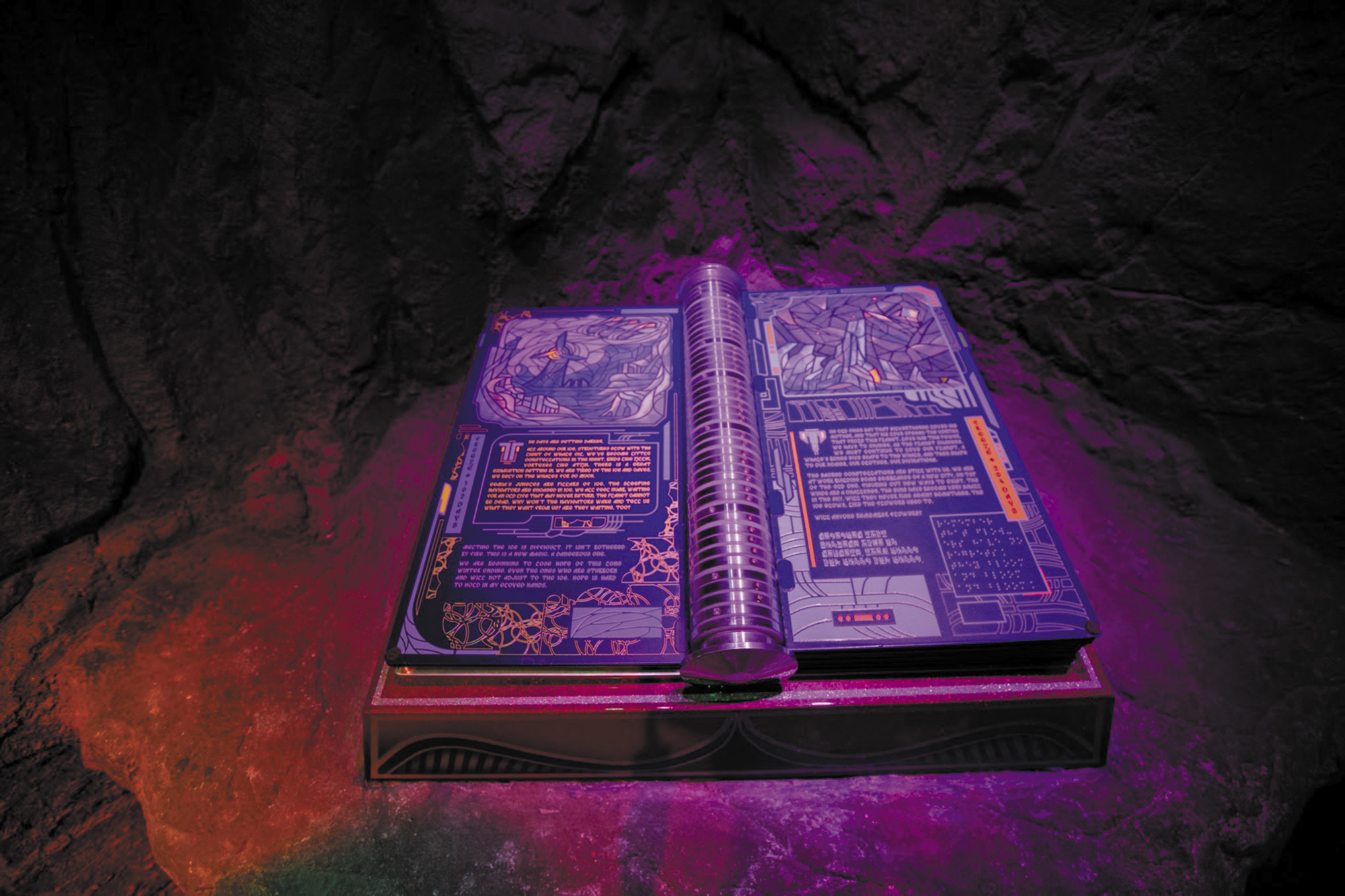 The-Book-of-Whales-_-Lead-Artists--Luke-Dorman,-Julian-Williams,-Josh-Myers-_-Photo-by-Kate-Russell_Meow Wolf: A Look into the 4 Converged Worlds by Jordan Rumsey